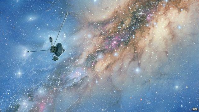 Voyager surfs Solar System's edge