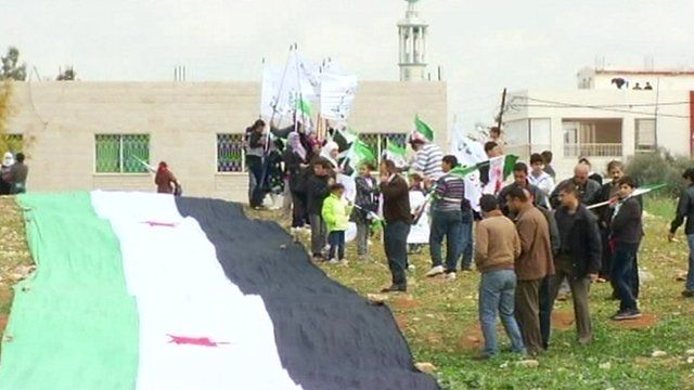 Funeral in the Jordanian town of Ramtha