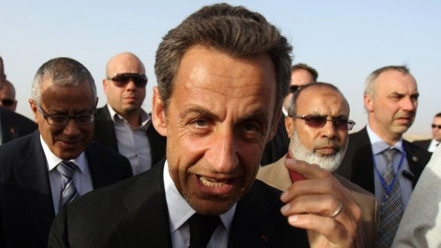 French ex-President Nicolas Sarkozy