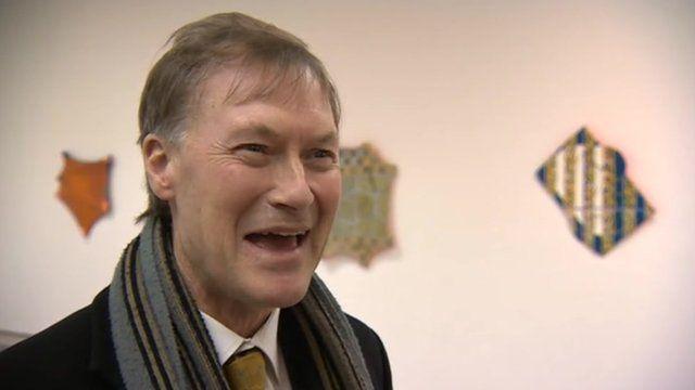 David Amess at the Jerwood Gallery