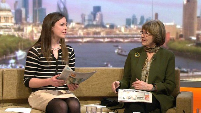 Isabel Hardman and Joan Bakewell on The Andrew Marr Show