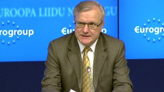 Europe's Commissioner for Economic Affairs, Olli Rehn