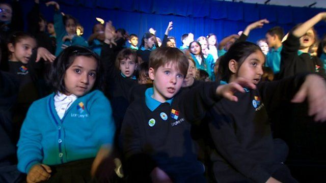 Langley Hall Primary Academy pupils
