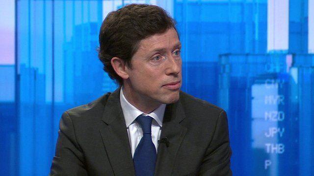 Eurostar chief executive Nicolas Petrovic
