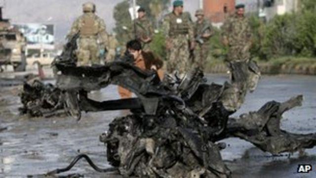 Afghan suicide attack kills five police in Jalalabad