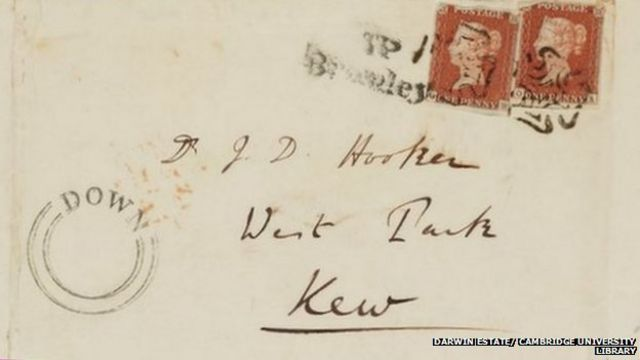 Charles Darwin letters reveal his emotional side