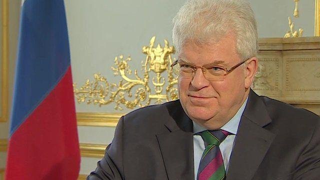 Vladimir Chizhov, Russian Envoy to the EU
