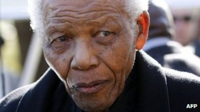 Nelson Mandela still in 'serious, but stable condition'