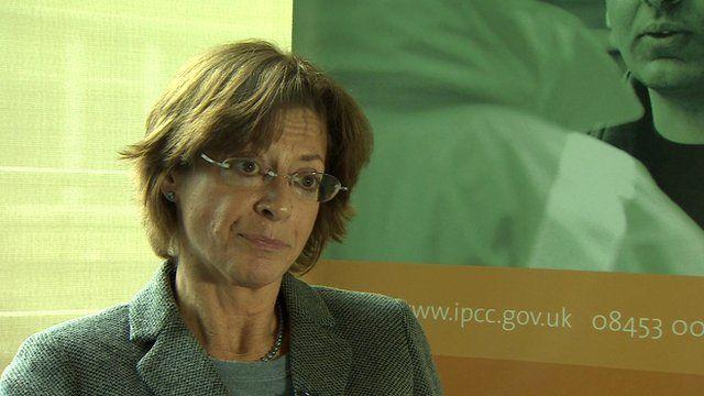 Deborah Glass, deputy chair of the IPCC