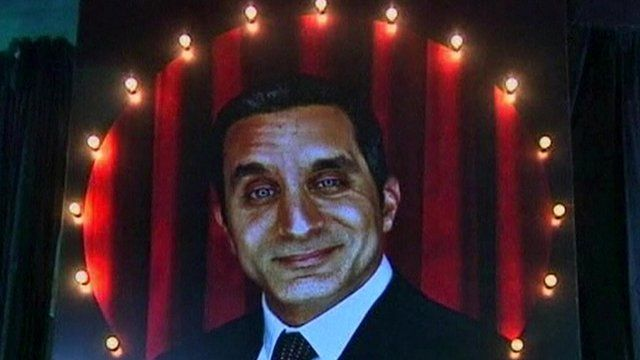 Egypt Satirist Bassem Youssef S Tv Show Suspended Bbc News