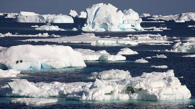 Melt may explain Antarctica's sea ice expansion