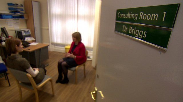 GP's consulting room