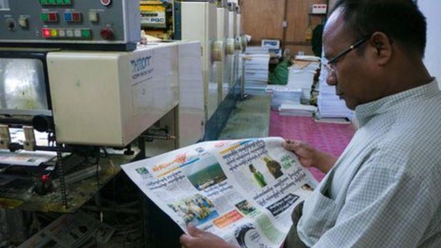 Burma sees return of private newspapers