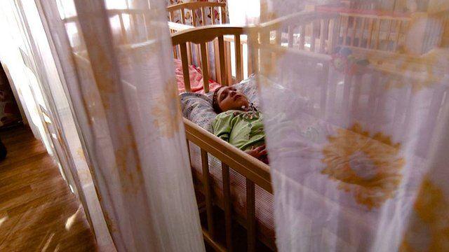 Inside a Russian orphanage