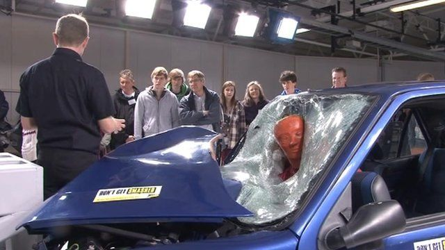 Driver training in Thatcham