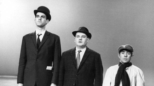 John Cleese, Ronnie Barker and Ronnie Corbett