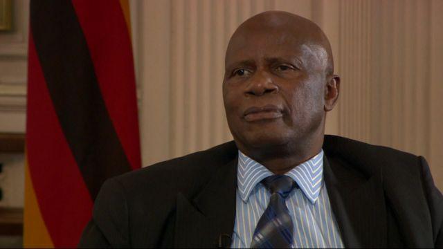 Zimbabwe's Justice Minister Patrick Chinamasa