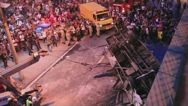 Rio bus crash