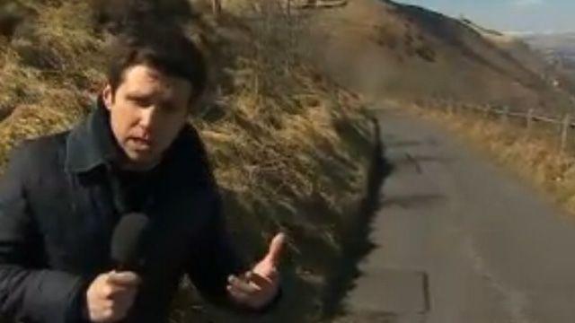 Jordan Davies reports from New Tredegar