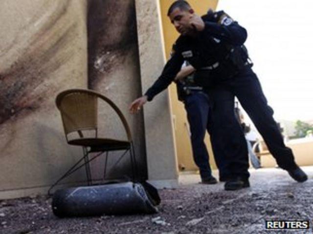 Exchange of fire between Gaza and Israel