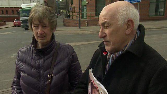 Doreen and Bob Ward