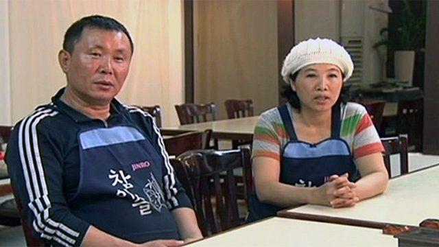 North Korean refugees in Los Angeles