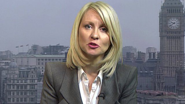 Minister for disabled people, Esther McVey