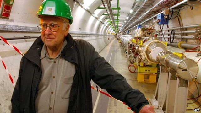 Peter Higgs: Behind the scenes at the Universe