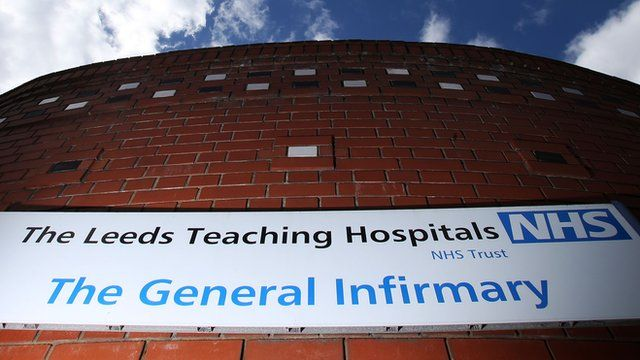 Leeds Gerneral Infirmary sign