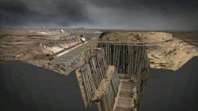 Trenches reconstruction at Hoo Peninsula