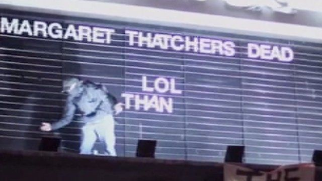 Brixton party to celebrate Margaret Thatcher's death