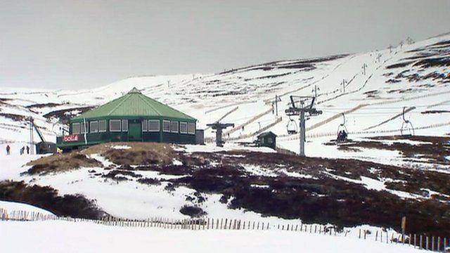 Ski slope at Glenshee