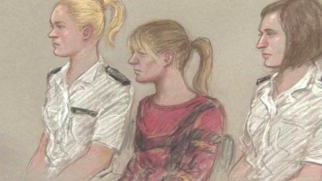 Melanie Jane Smith artist impression in court