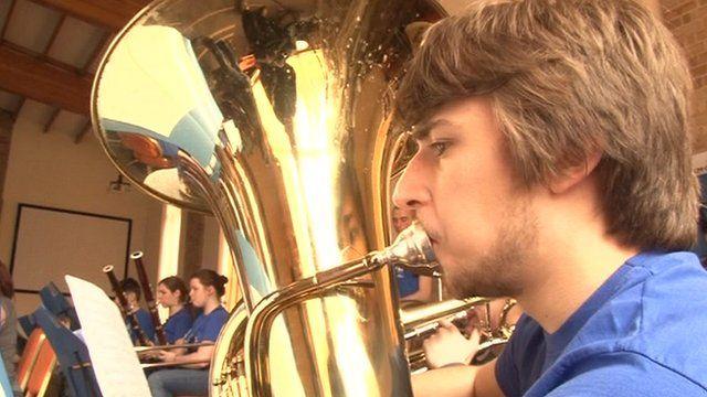 Triorca orchestra in Norfolk