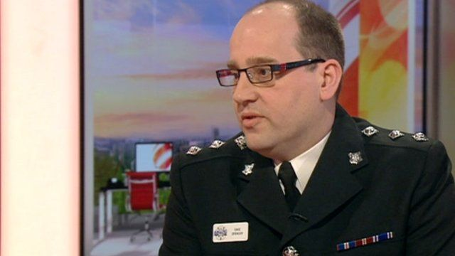 Northamptonshire Police's Chief Inspector Dave Spencer