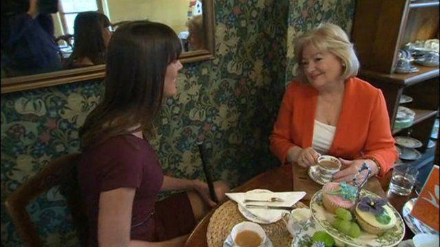 Irene Gorman, of the Tea Guild, talks to BBC Breakfast