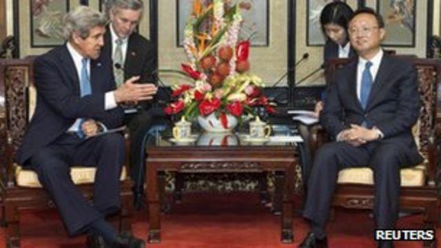 Kerry hails Chinese North Korea pledge