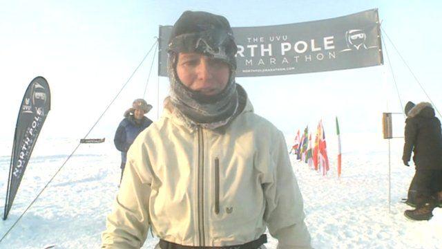 North Pole marathon