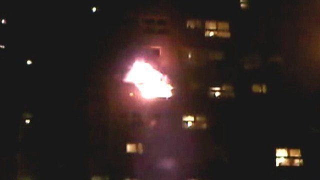 Shirley Towers fire
