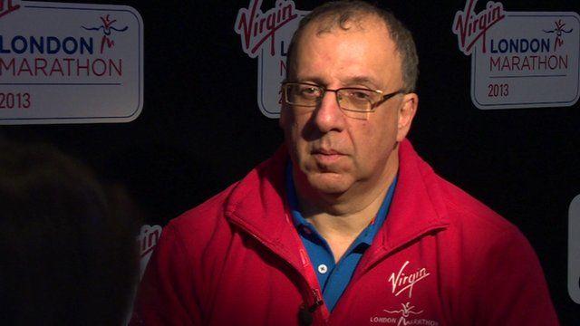 London Marathon chief executive Nick Bitel