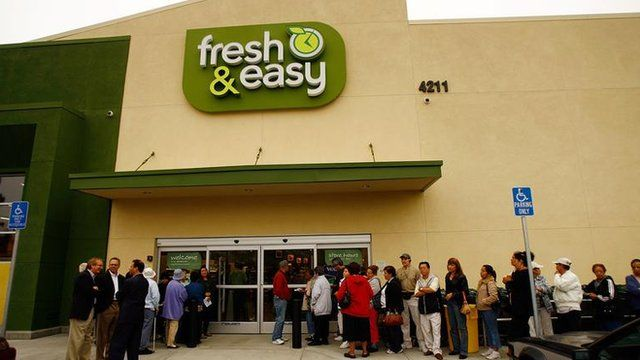 Fresh And Easy store