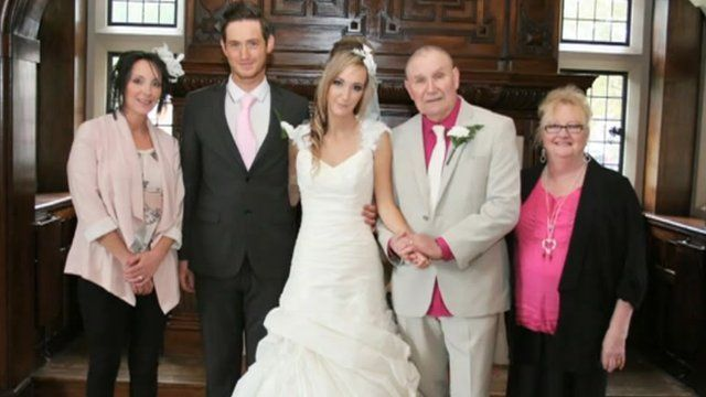 Kayleigh Duff on her dream wedding day