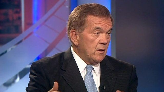 Tom Ridge in studio
