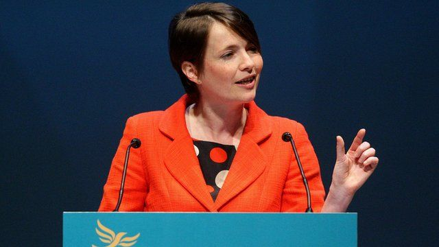 Welsh Liberal Democrats leader, Kirsty Williams AM
