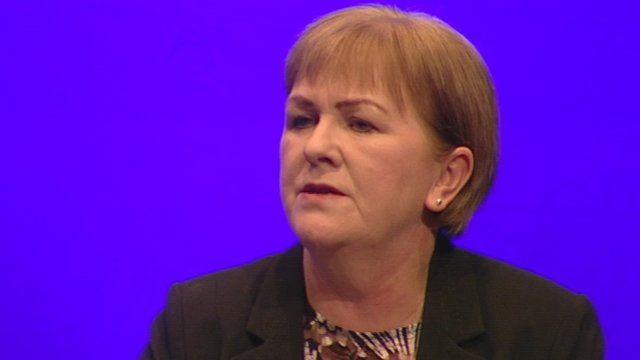 Johann Lamont spoke of the Scotland she grew up in