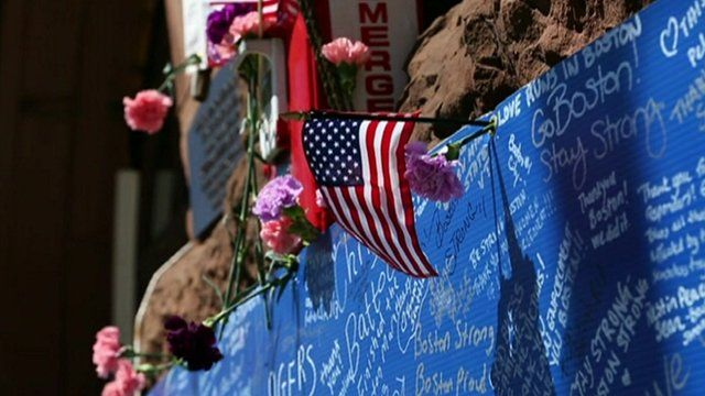 Tributes to Boston bomb victims
