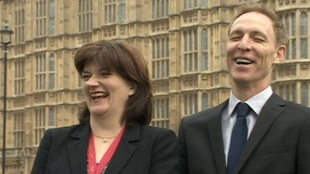 Nicky Morgan and Jim Murphy