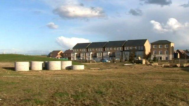 Prior's Hall development in Corby