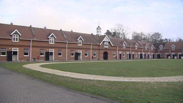 Goldolphin training centre