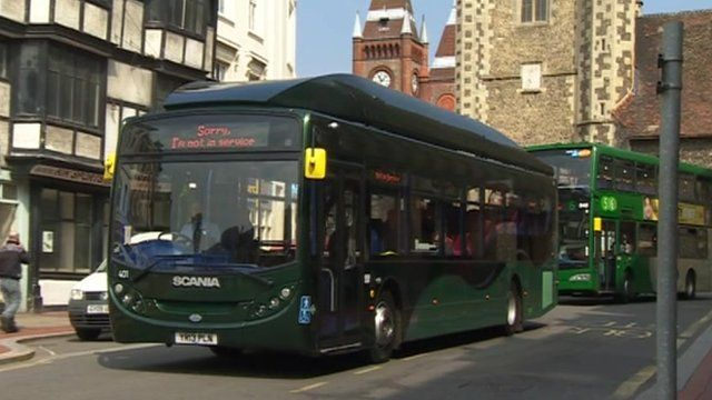 A new gasbus in Reading